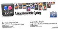 Wordpress flickrbox widget gallery flickr.com