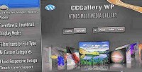 Wp ccgallery multimedia plugin wordpress gallery