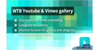 Youtube wtb vimeo gallery