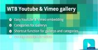Youtube wtb vimeo gallery
