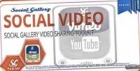 Gallery social wordpress plugin viewer video
