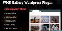 Gallery wmd wordpress plugin