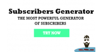 Generator the most powerful subscribers of generator generator