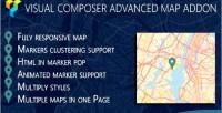 Google advance map addon composer visual