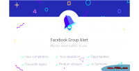 Groups facebook alerts