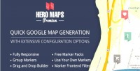Hero maps premium responsive plugin maps google