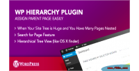 Hierarchy wp page plugin
