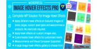 Image wp pro effects hover