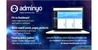 Intelligent adminyo wordpress admin