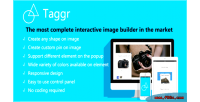 Interactive taggr image wordpress for builder