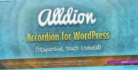Responsive alldion wordpress for accordion