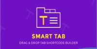 Smart tabs drag drop builder shortcode tab