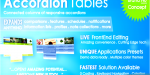 Tables accordion