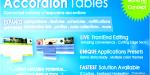 Tables accordion