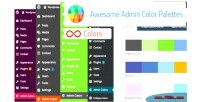 Admin awesome color plugin wordpress palettes