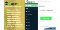 Admin wordpress theme wpshapere