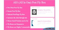 Aio post fly box prev next post selected recent