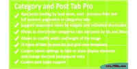 And category pro tab post
