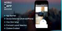 App mobile booster plugin wordpress a