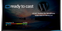 Button vcast for wordpress
