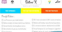 Buttons x powerful button wordpress for builder