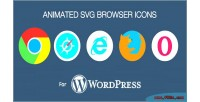 Svg animated browser plugin wordpress icons
