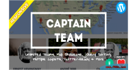 Captain team responsive team plugin wp showcase