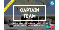 Captain team responsive team plugin wp showcase