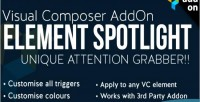 Composer visual element spotlight