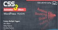 Css3 animation plugin wordpress effects