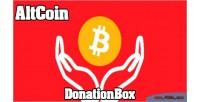 Donationbox altcoin shortcode