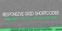 Grid responsive wordpress for shortcodes