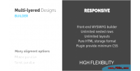 Layered multi design builder parallax and