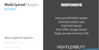 Layered multi design builder parallax and