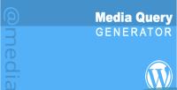 Media css query generator