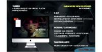 A 3 in 1 full screen wordpress for menu a