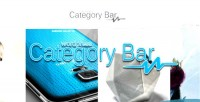 Bar category for wordpress
