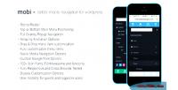 Better mobi wordpress menu navigation mobile