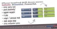Drilldown jquery wordpress for menu