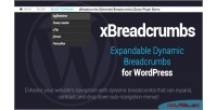 Expandable xbreadcrumbs wordpress for navigation