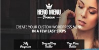 Hero menu responsive wordpress plugin menu mega