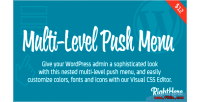 Level multi push wordpress for menu
