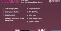 Livemenu live style your menu mega wordpress