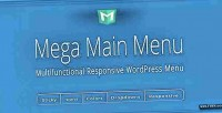 Main mega menu plugin menu wordpress