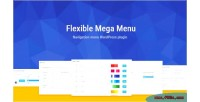 Mega flexible plugin wordpress menu