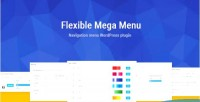 Mega flexible plugin wordpress menu