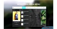 Mega wordpress menu