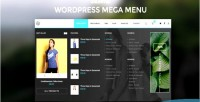 Mega wordpress menu
