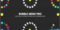 Menu bubble pro