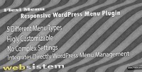 Menu flexi wordpress plugin